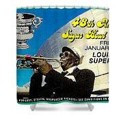 1982 Sugar Bowl Ticket Shower Curtain