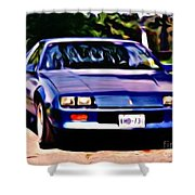 1985 Chev Camero Shower Curtain