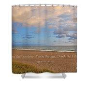 199- Ralph Waldo Emerson Shower Curtain