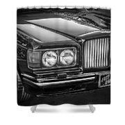 1990 Bentley Turbo R Bw Shower Curtain