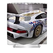 1996 Porsche 911 Gt1 Shower Curtain