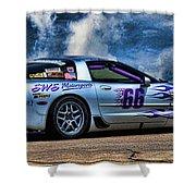 1997 Corvette Shower Curtain