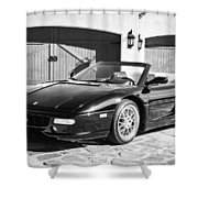 1997 Ferrari F 355 Spider -008bw Shower Curtain