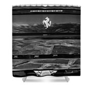 1997 Ferrari F 355 Spider Taillight Emblem -078bw Shower Curtain