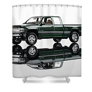 1999 Chevy Silverado Truck Shower Curtain