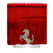 1999 Ferrari 550 Maranello Emblem -651c Shower Curtain