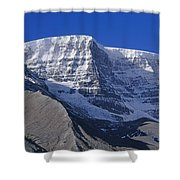 1m3732-v-snow Dome  Shower Curtain