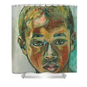1st Day At School Shower Curtain
