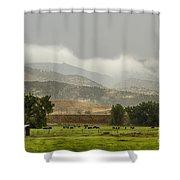 1st Day Of Rain Great Colorado Flood Shower Curtain