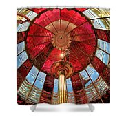 1st Order Fresnel Lens Shower Curtain