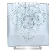Diamond Quanta Shower Curtain