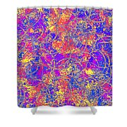 0147 Abstract Thought Shower Curtain