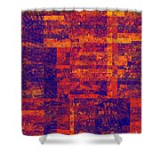 0171 Abstract Thought Shower Curtain