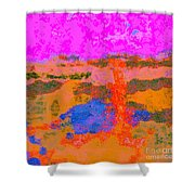 0173 Abstract Thought Shower Curtain