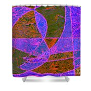 0188 Abstract Thought Shower Curtain