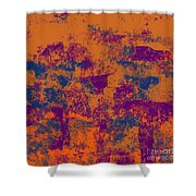 0199 Abstract Thought Shower Curtain