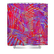 0218 Abstract Thought Shower Curtain