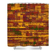 0245 Abstract Thought Shower Curtain
