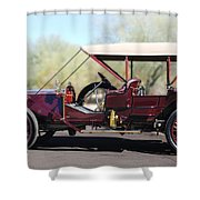 1907 Panhard Et Levassor Shower Curtain by Jill Reger
