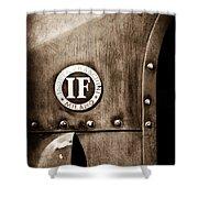 1913 Isotta Fraschini Tipo Im Emblem Shower Curtain