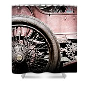1913 Isotta Fraschini Tipo Im Wheel Shower Curtain