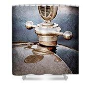 1922 Studebaker Touring Hood Ornament Shower Curtain