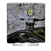 1926 Ford Model T Radiator Ornament Shower Curtain
