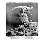 1930 Hispano-suiza H6c Kellner Transformable Hood Ornament Shower Curtain
