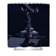 1930 Rolls Royce Emblem II Shower Curtain