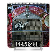1931 Alpha Romeo Type 6c 1750 Gran Sport Shower Curtain
