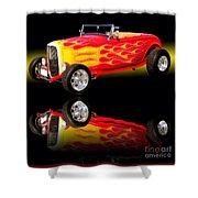 1932 Ford V8 Hotrod Shower Curtain