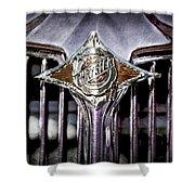 1933 Chrysler Sedan Grille Emblem Shower Curtain