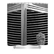 1936 Desoto Airstream Grille Emblem Shower Curtain