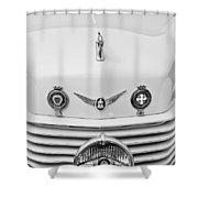 1937 Cord 812 Sc Convertible Phaeton Sedan Grille Emblems Shower Curtain