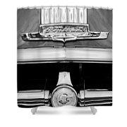 1950 Pontiac Grille Emblem Shower Curtain