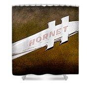 1951 Hudson Hornet Emblem Shower Curtain