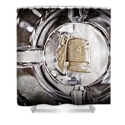1951 Mercury Custom Emblem Shower Curtain