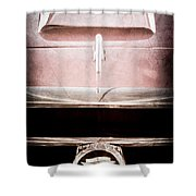 1953 Nash-healey Roadster Grille Emblem Shower Curtain