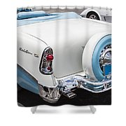 1956 Chevrolet Bel Air Convertible Shower Curtain