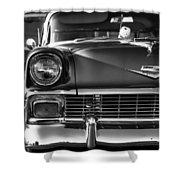 1956 Chevy Bel Air Shower Curtain