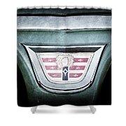 1956 Dodge Emblem Shower Curtain