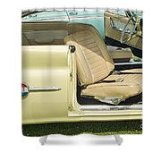 1960 Chrysler 300-f Muscle Car Shower Curtain