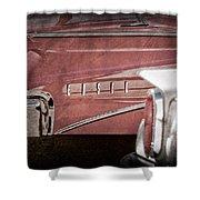 1960 Edsel Taillight Shower Curtain