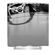 1962 Ac Shelby Cobra Mk I 260 Prototype Shower Curtain