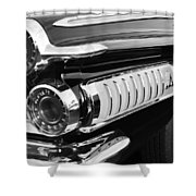 1962 Dodge Polara 500 Taillights Shower Curtain