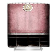1963 Apollo Gran Tourismo Hood Emblem Shower Curtain