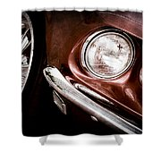 1969 Ford Mustang Mach 1 Front End Shower Curtain