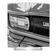 1971 Iso Grifo Can Am Taillight Emblem Shower Curtain