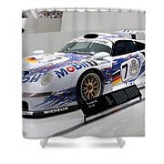 1998 Porsche 911 Gt1 Shower Curtain