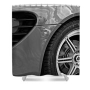 2005 Lotus Elise Wheel Emblem Shower Curtain